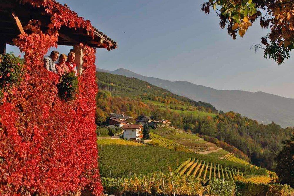 Vacanze autunnali in Alto Adige - colori in Valle Isarco