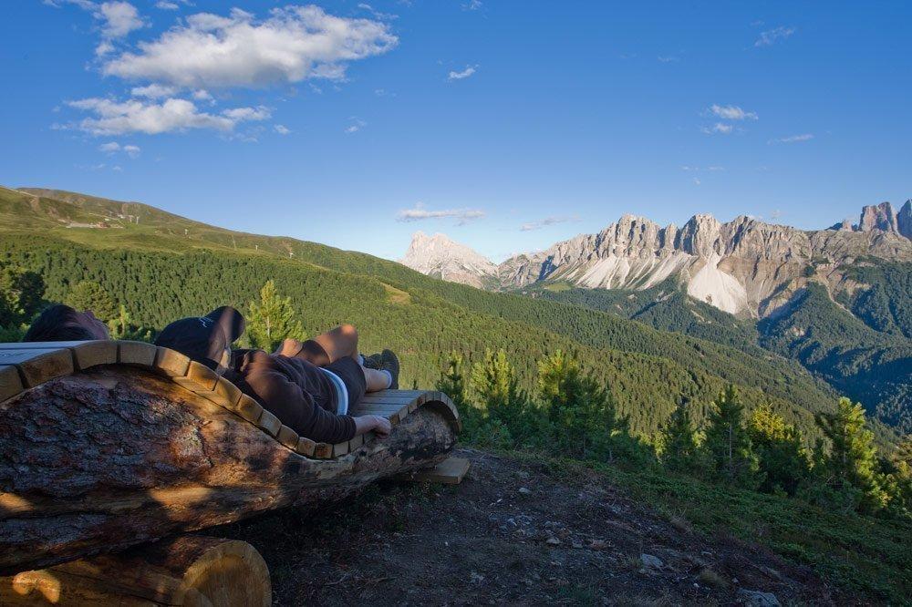 Mountain adventures around Brixen
